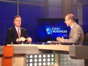 Watch Mazzeo on First Business